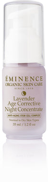 Lavender Age Corrective Night Concentrate - Organic Skin Therapy