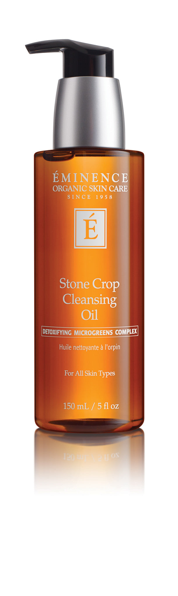 #1 Best Organic Cleansing Oil (not greasy) - Eminence Organic Stone Crop Cleansing Detox Oil