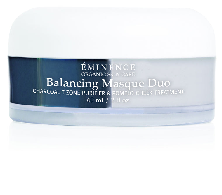 Charcoal Pomelo Balancing Masque Duo - Best for Oily/Combination Skin - Organic Skin Therapy