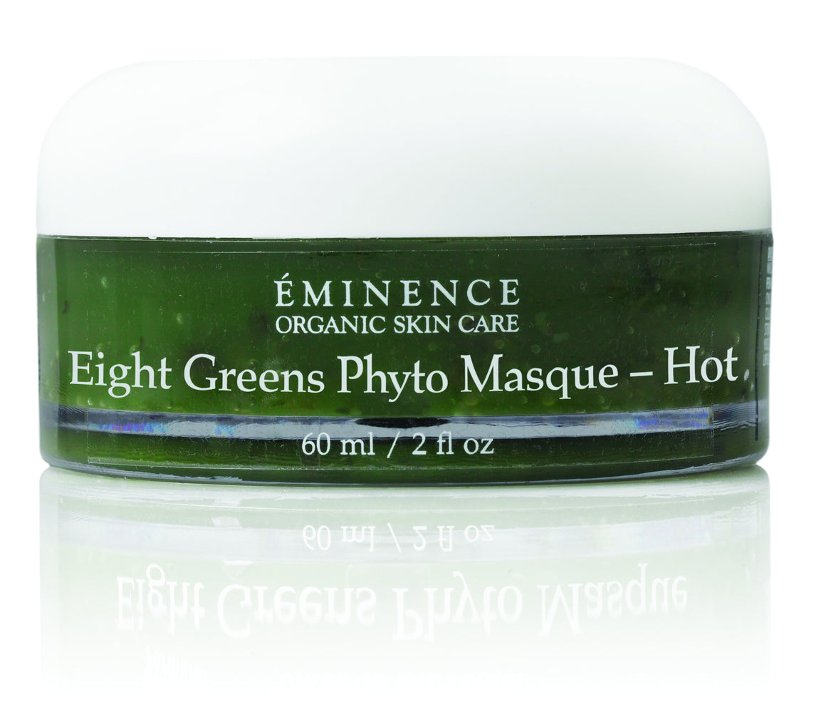 Eminence Organic Eight Greens Phyto Mask HOT - Hormonal Lifting & Hormonal Acne Treatment