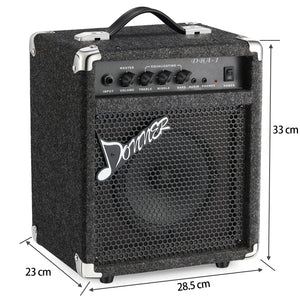 Donner DBA-1 15W Bass Guitar Amplifier