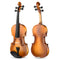Eastar EVA-330 4/4 Solid Wood Violin Set Full Size for Students Kids Adults with Hard Case, Shoulder Rest, Rosin, Two Bow, Clip-on Tuner Extra Strings