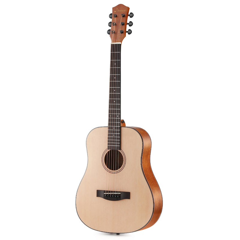 Donner DAG-1M 36 Inch 3/4 Size Acoustic Guitar Spruce Mahogany Body