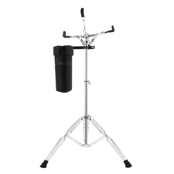Donner Extended Weight Snare Drum Stand With Drum Holder