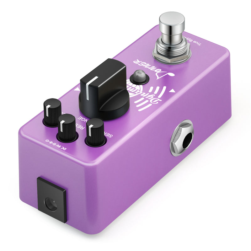 Donner Mini Auto Wah Pedal Dynamic Wah Guitar Effect Pedal
