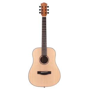 [NEW]Donner DAG-1M 36 Inch 3/4 Size Acoustic Guitar Spruce Mahogany Body