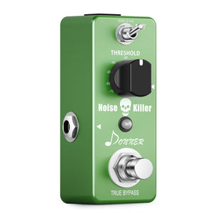 Donner Noise Killer Guitar Effect Pedal Noise Gate Pedal 2 Modes