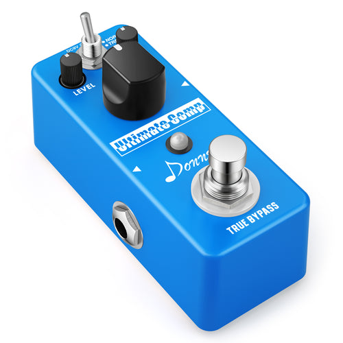 Donner Compressor Pedal Ultimate Comp Guitar Effect Pedal