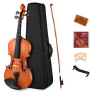 Eastar EVA-2 Violin Set Fiddle for Kids Beginners Students with Hard Case, Rosin, Shoulder Rest, Bow, and Extra Strings (Imprinted Finger Guide on Fingerboard)