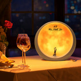 Moon Mood Lamp for 10 Year Anniversary