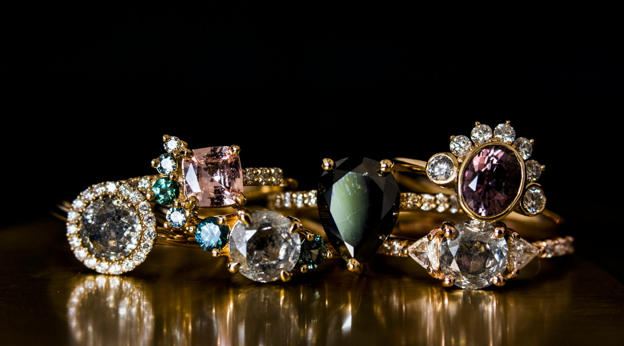 Colored Diamonds What You Need To Know About Champagne Galaxy Diamo Marrow Fine