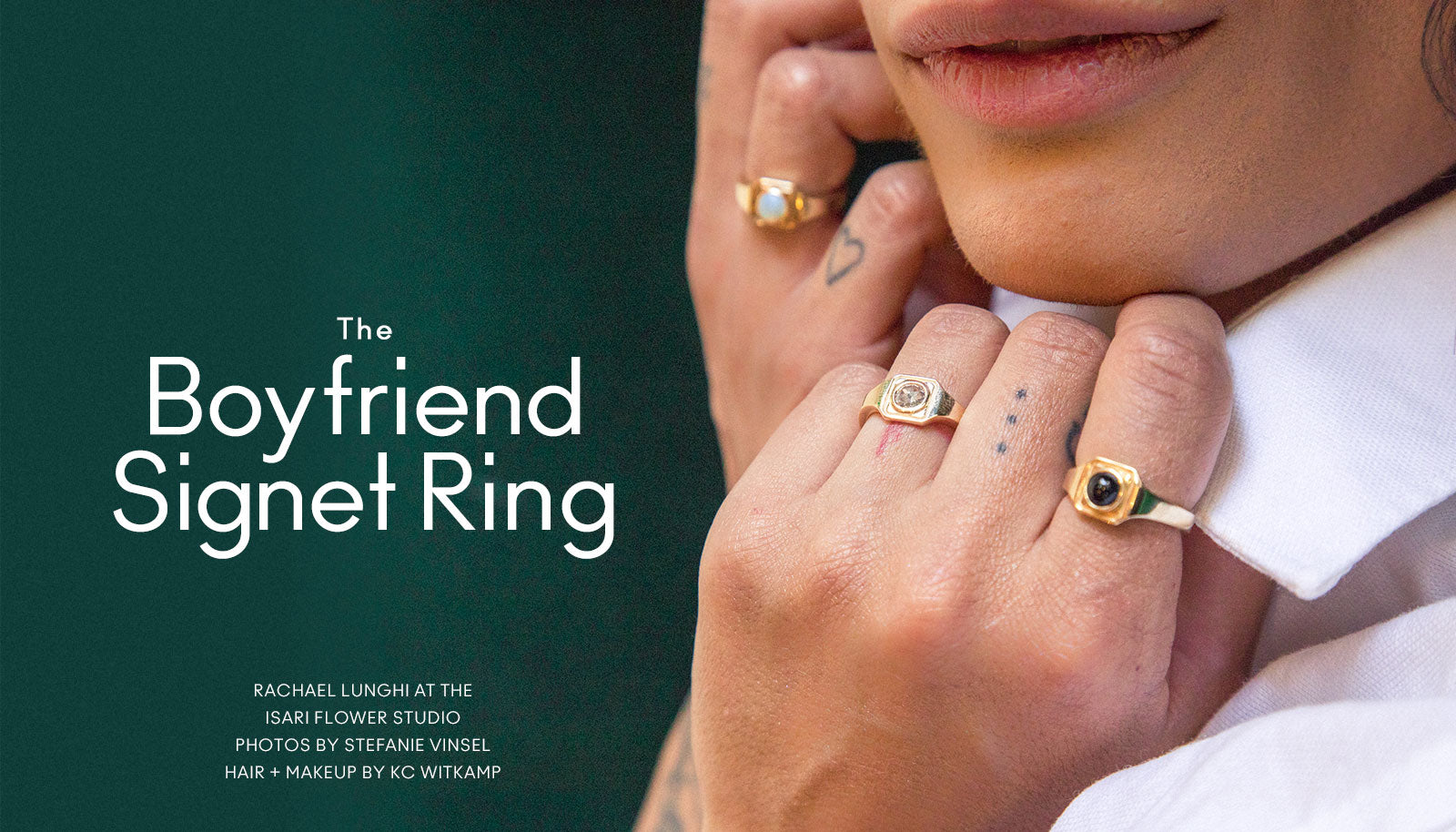 Marrow Fine Boyfriend Signet Ring
