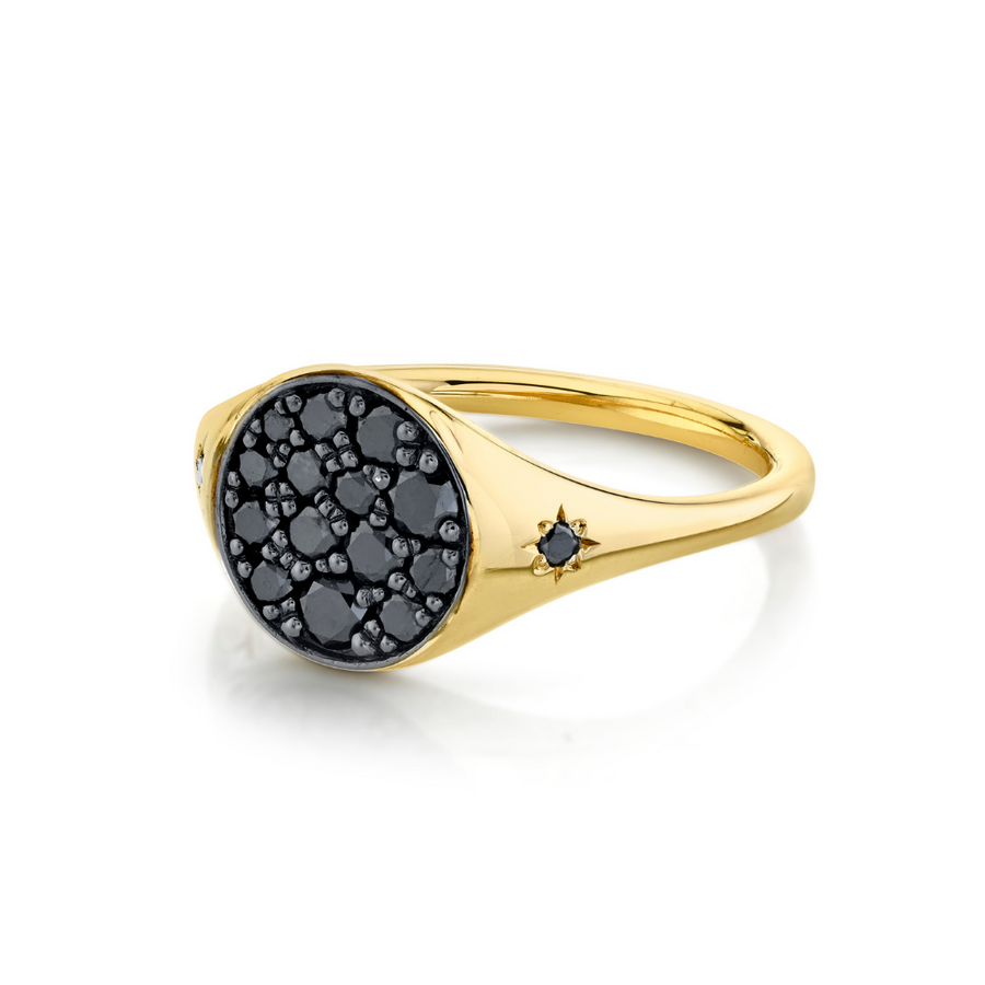 New Moon Signet Ring - Marrow Fine