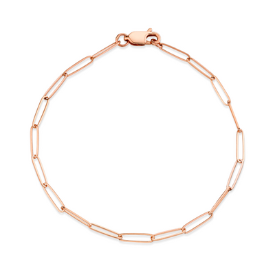 Weightless Paperclip Chain Bracelet - Marrow Fine