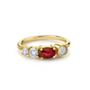 .68ct Ruby & Opal Cluster RIng - Marrow Fine
