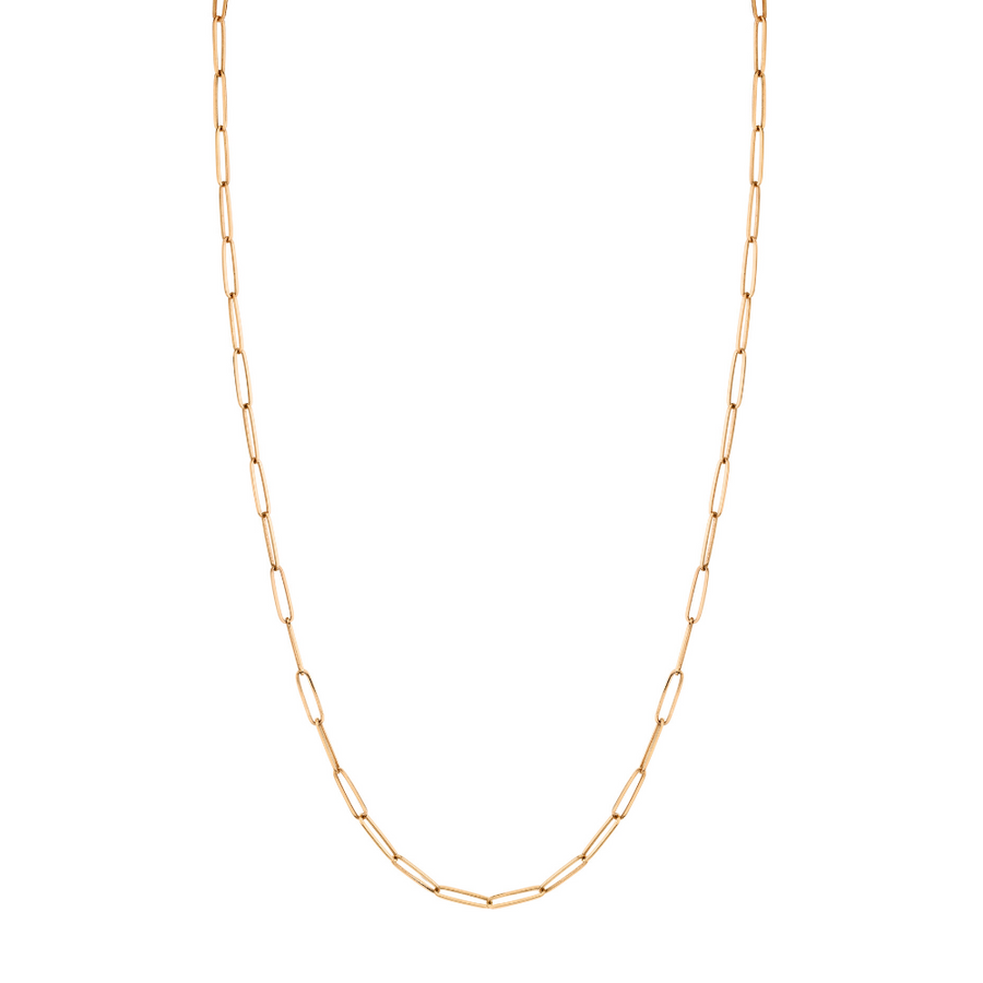Weightless Paperclip Chain Necklace