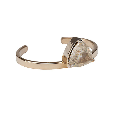 Rutilated Quartz Cuff