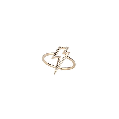 Ziggy in the Sky Ring with White Diamonds