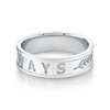 Men's Always Wedding Band