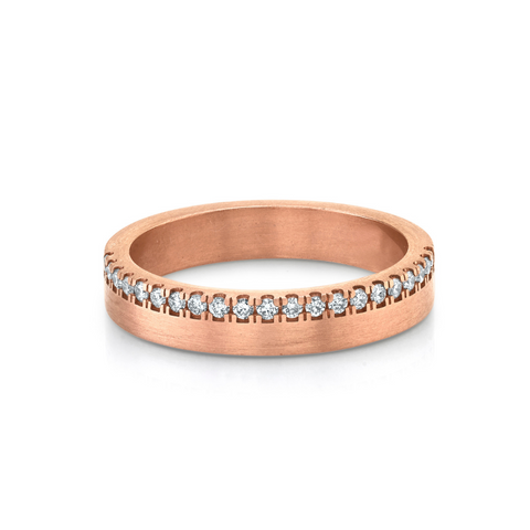 Mindy Half Diamond Band