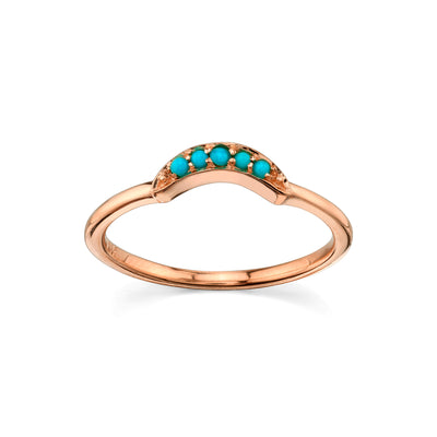Ashley Boho Arch Ring - Marrow Fine