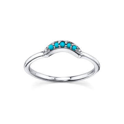 Ashley Boho Arch Ring
