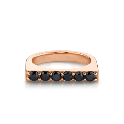 Black Diamond Edge Ring - Marrow Fine