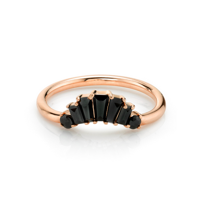 Black Diamond Analee Art Deco Band