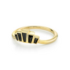 Black Diamond Emerald City Bezel Ring - Marrow Fine