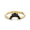 Black Diamond Gemma Ballerina Ring