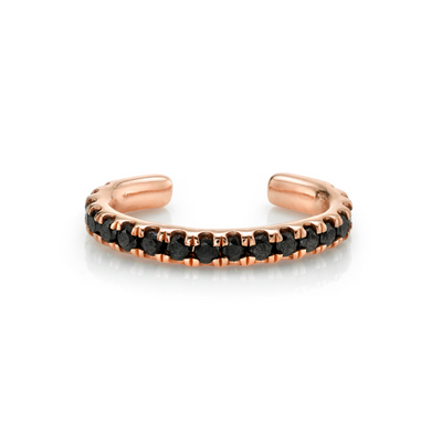 Black Diamond Pavé Ear Cuff - Marrow Fine
