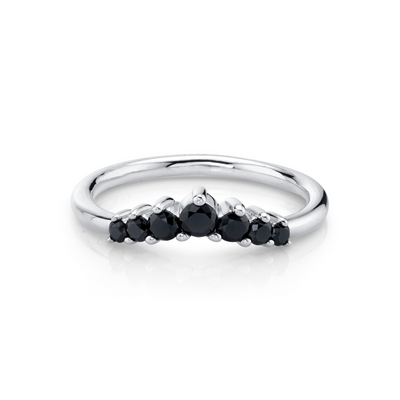 Black Diamond Seven Stars Nesting Ring - Marrow Fine