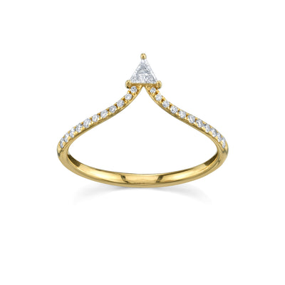 By The Sea Trillion Ring