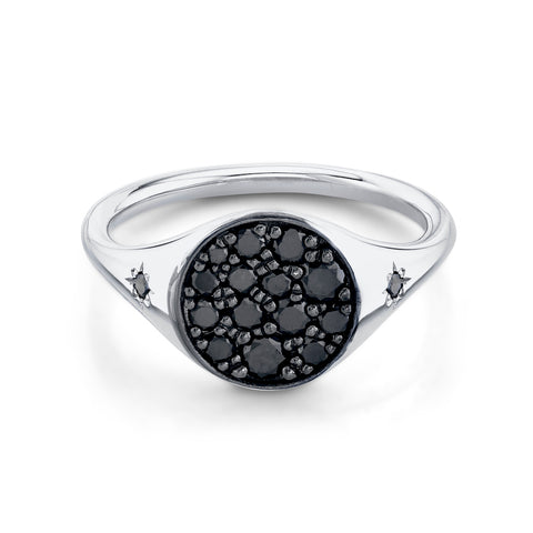 New Moon Signet Ring