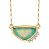 Free Form Opal Necklace