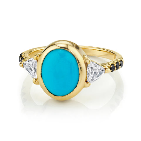 Sleeping Beauty Right Hand Ring - Marrow Fine