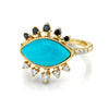 Protection Turquoise Ring