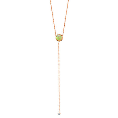 Fire & Ice Opal Lariat
