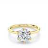 2.28ct Old Euro Cut Camille Engagement Ring
