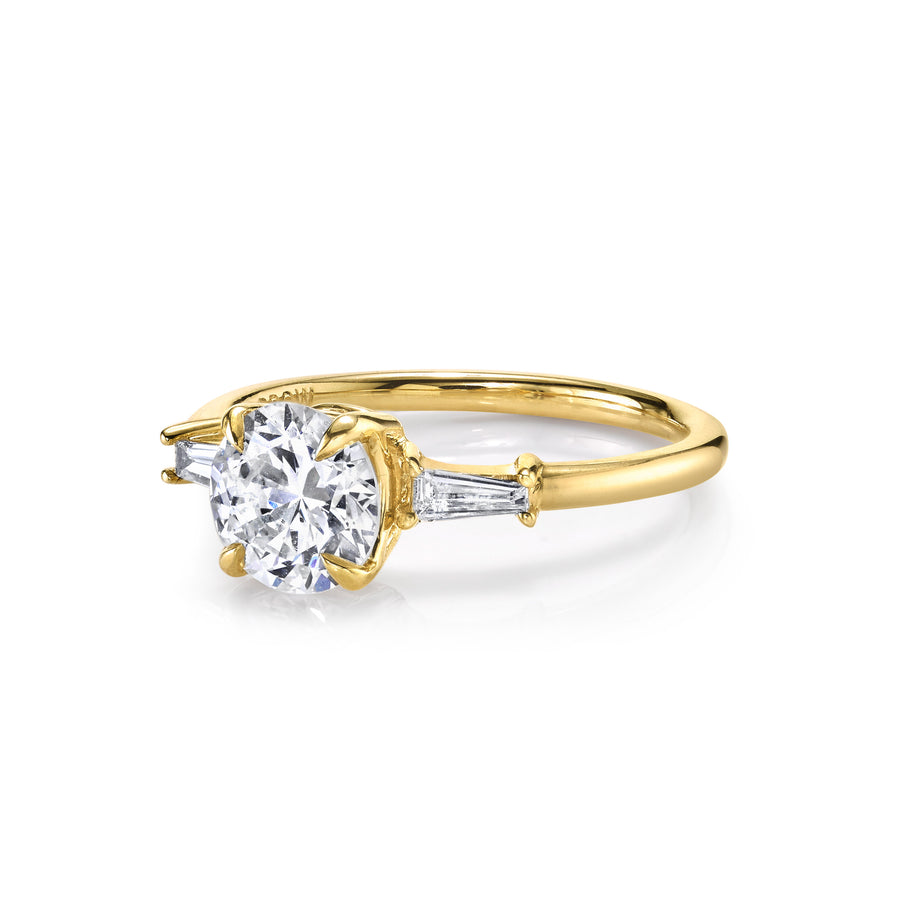 Classic Baguette Engagement Ring - Marrow Fine