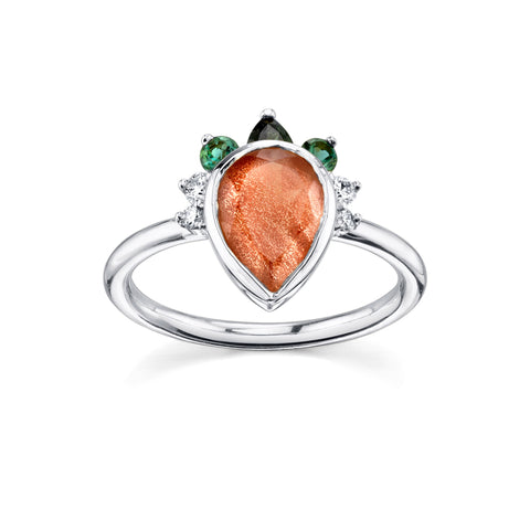 Desert Nights Sunstone Ring - Marrow Fine
