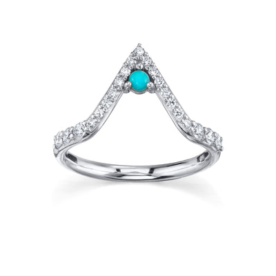 Divine Triangle Ring