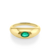 .36ct Emerald Bombe Ring