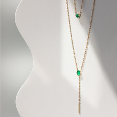 Emerald Sweet Nothings Choker