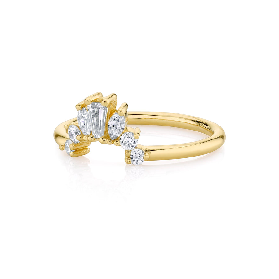 Gemma Ballerina Ring - Marrow Fine