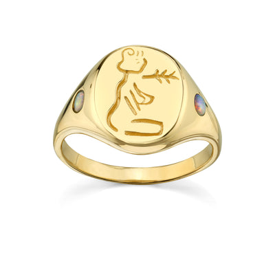 Hera Signet Ring - Marrow Fine