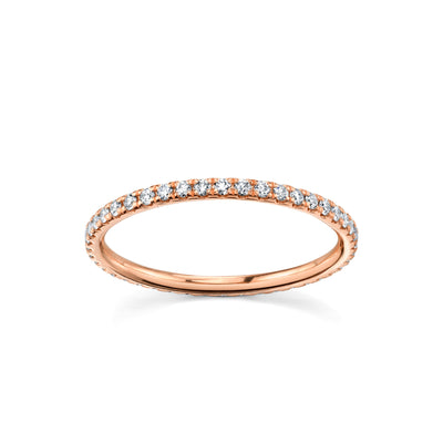 Love Goes Round White Diamond Eternity Band - Marrow Fine