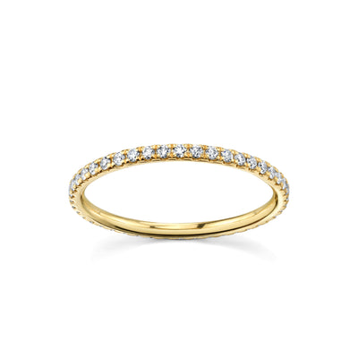 Love Goes Round White Diamond Eternity Band