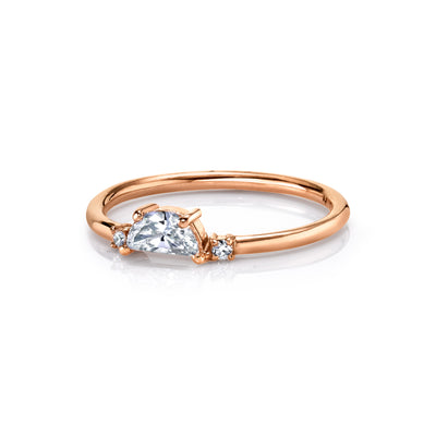 Moonlight and Lovers Diamond Ring