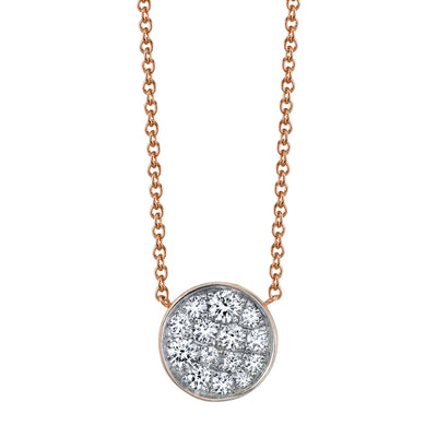 Under the Perfect Moon Pendant - Full Moon - Marrow Fine